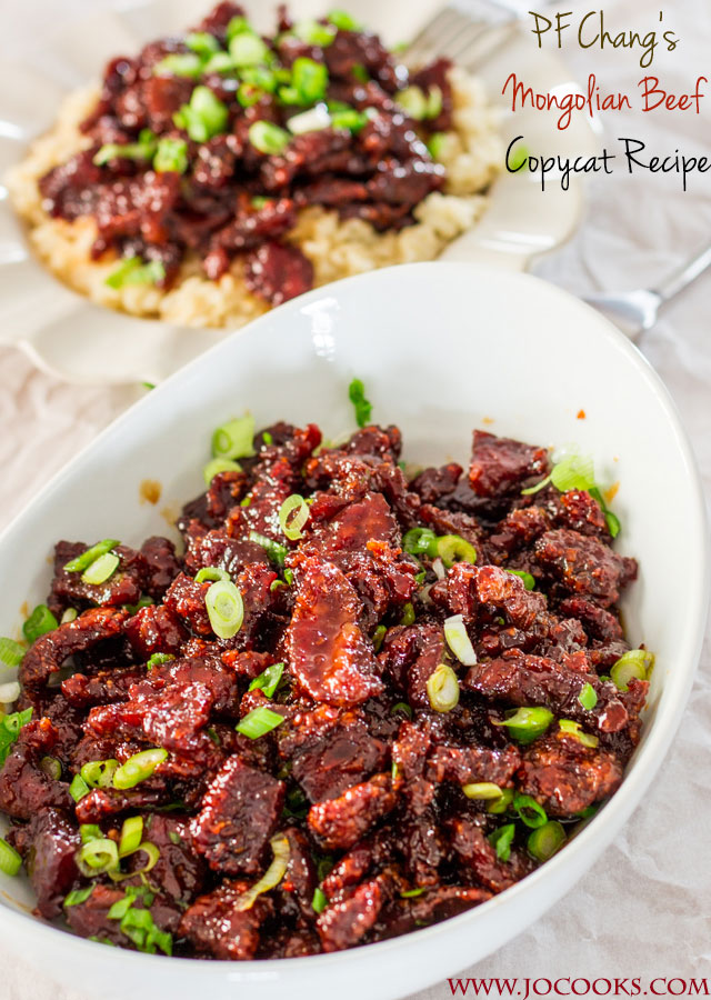 PF Changs Mongolian Beef Copycat Recipe | 25+ CopyCat Restaurant Recipes