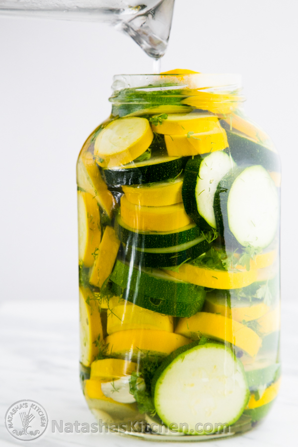 Pickled Zucchini | 25+ Canning Recipes