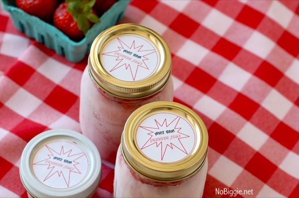 Strawberry Freezer Jam Printable | 25+ Canning Recipes