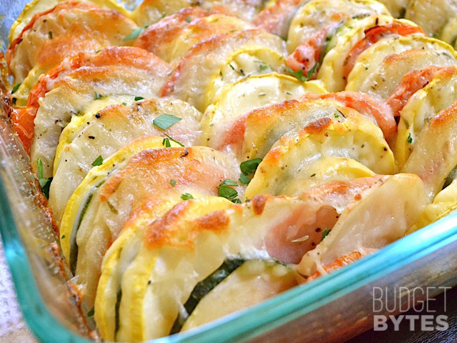 Summer vegetable tian | 25+ zucchini recipes