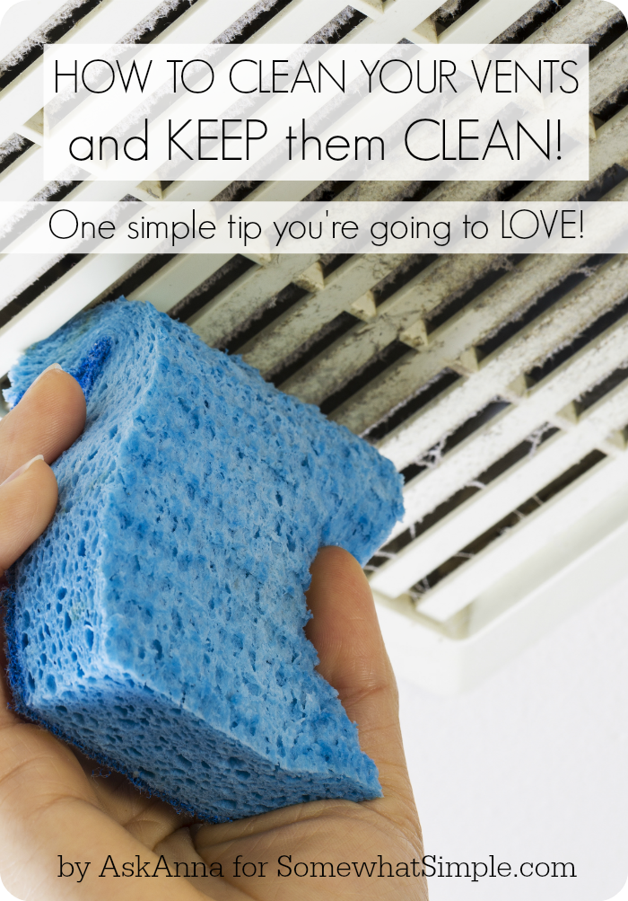 Wax Vents to Keep Them Clean | 25+ Cleaning Hacks
