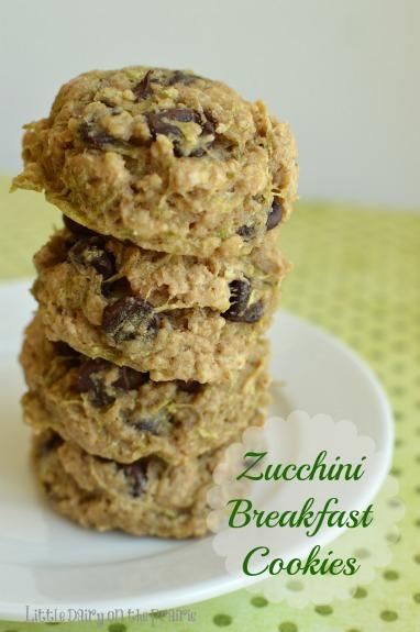 Zucchini Breakfast Cookies | 25+ zucchini recipes