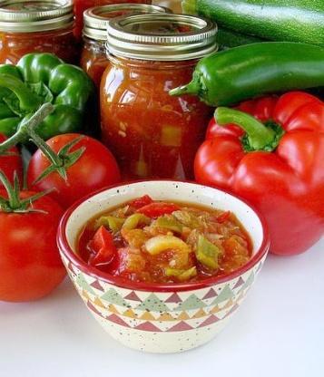 Zucchini Salsa, canned | 25+ zucchini recipes