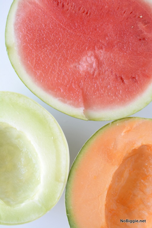 the colors of summer - melon | NoBiggie.net