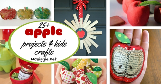 25 Apple Projects And Kids Crafts Nobiggie