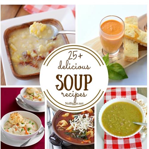 25+ delicious soup recipes | NoBiggie.net