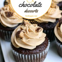 25+ peanut butter and chocolate desserts