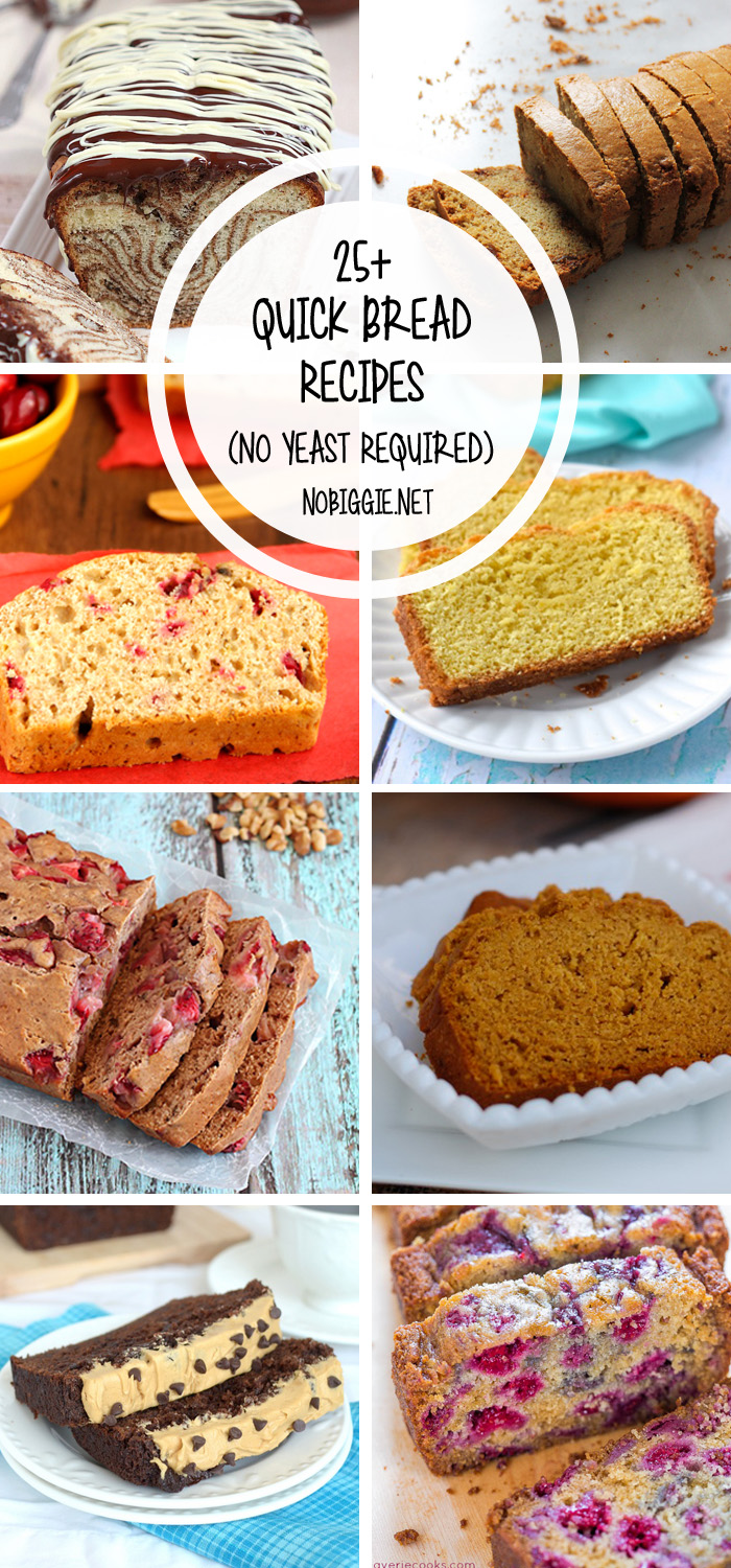 25 Quick Bread Recipes No Yeast Required