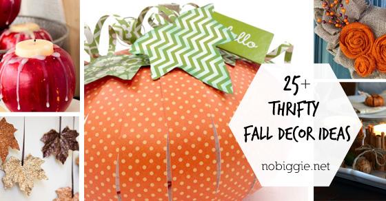 25+ Thrifty Fall Decor Ideas   NoBiggie.net
