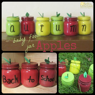 Apple Jars - 25+apple projects and kids crafts - NoBiggie.net