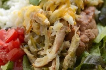 Bajio's Green Chicken Chili Salad