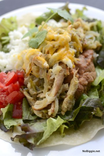 Green Chile Chicken Salad