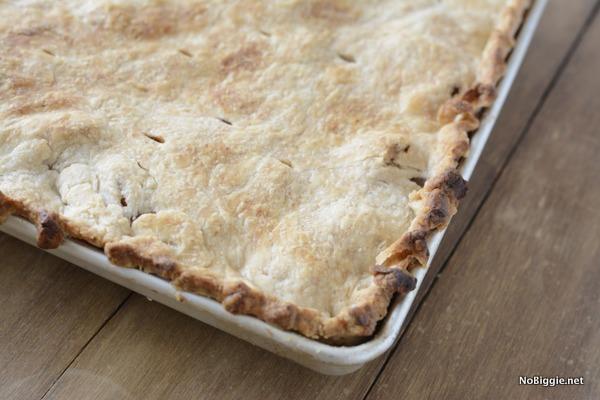 Baked Caramel Apple Slab Pie this recipe is amazing! Get it on NoBiggie.net