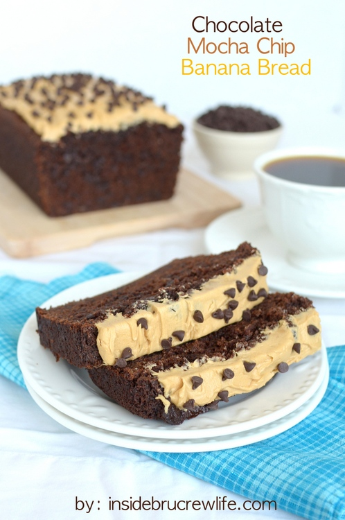 Chocolate Mocha Chip Banana Bread | 25+ Quick Bread Recipes (No Yeast ...