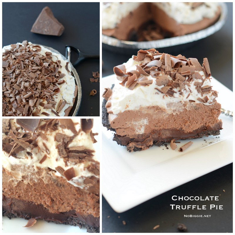 Chocolate Truffle Pie | NoBiggie.net