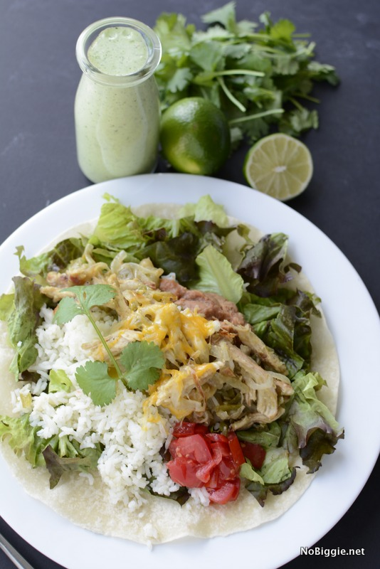 Copycat Bajio's green chicken chili salad | NoBiggie.net