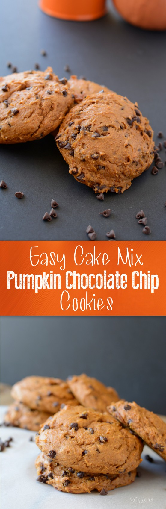 Recipe Pumpkin Chocolate Chip Cookies Spice Cake Mix