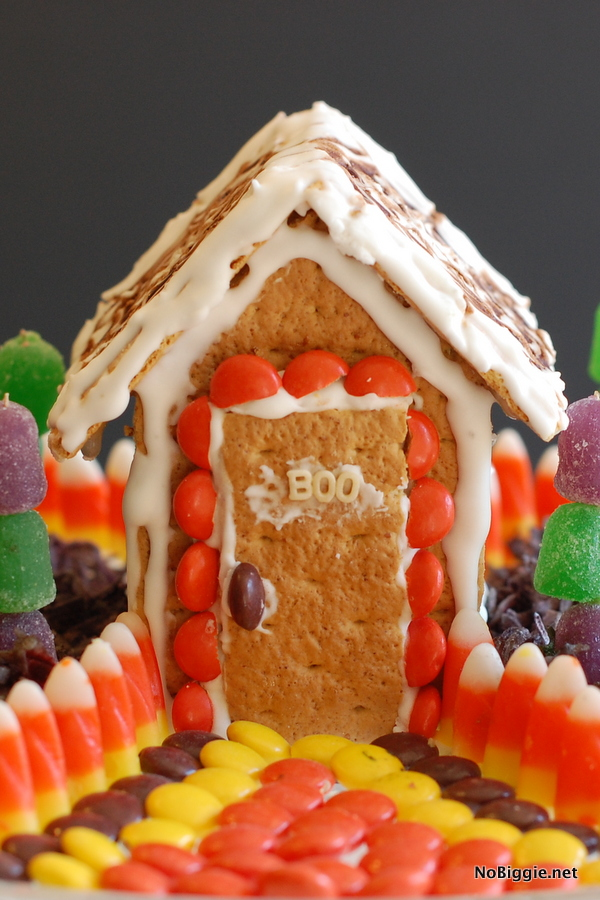 halloween candy house