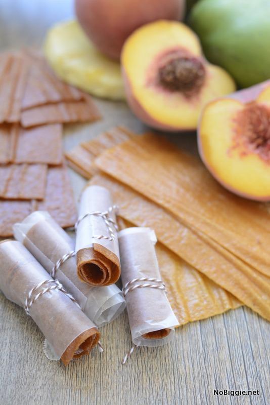 Homemade Fruit Leather - so good and so easy!   NoBiggie.net