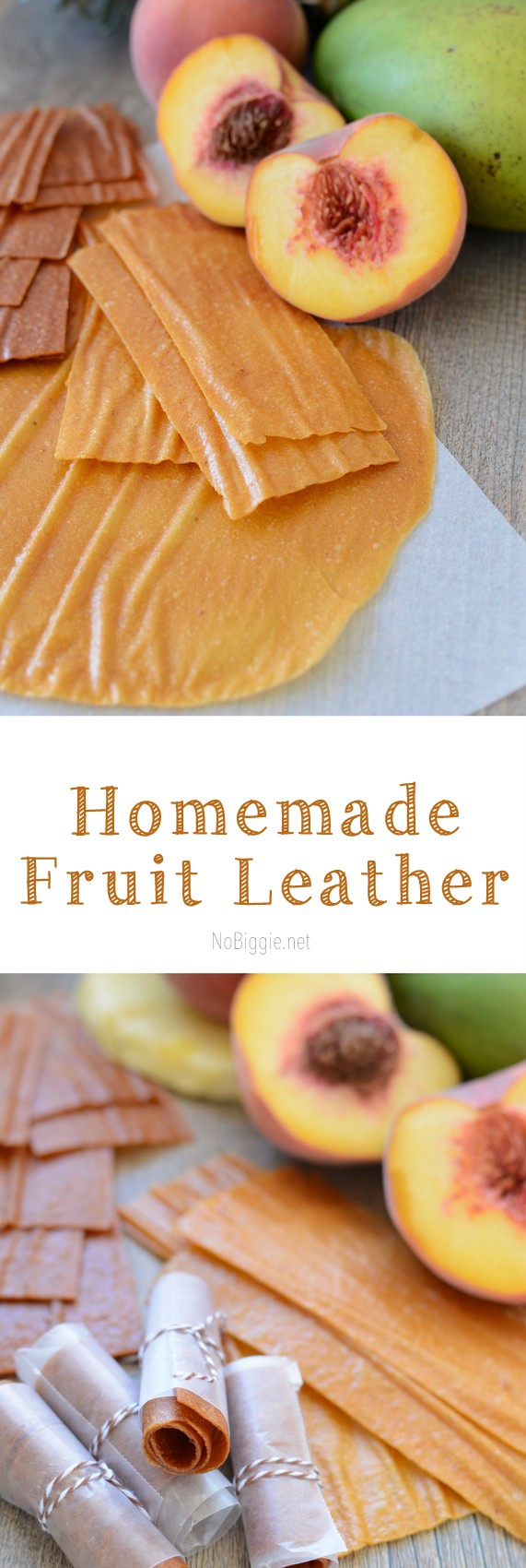 Homemade Fruit Leather with awesome flavor combinations | NoBiggie.net