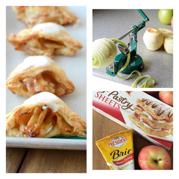 Mini Apple Brie Turnovers | NoBiggie.net