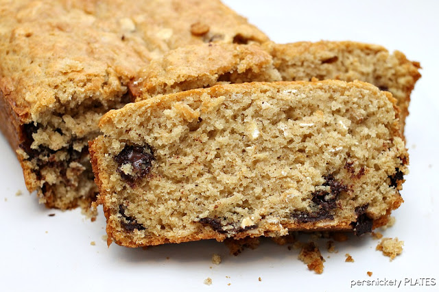 Oatmeal Chocolate Chip Bread | 25+ Quick Bread Recipes (No Yeast Required)