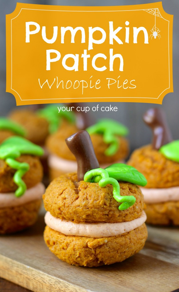 Pumpkin Patch Whoopie Pies | 25+ Pumpkin Recipes