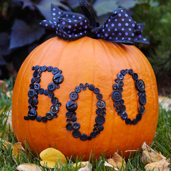 Pumpkin decorating | 25+ no-carve pumpkin ideas