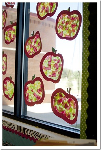 Stained glass apples - 25+apple projects and kids crafts - NoBiggie.net