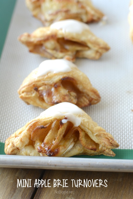 apple brie turnovers - the perfect appetizer | get the recipe on NoBiggie.net