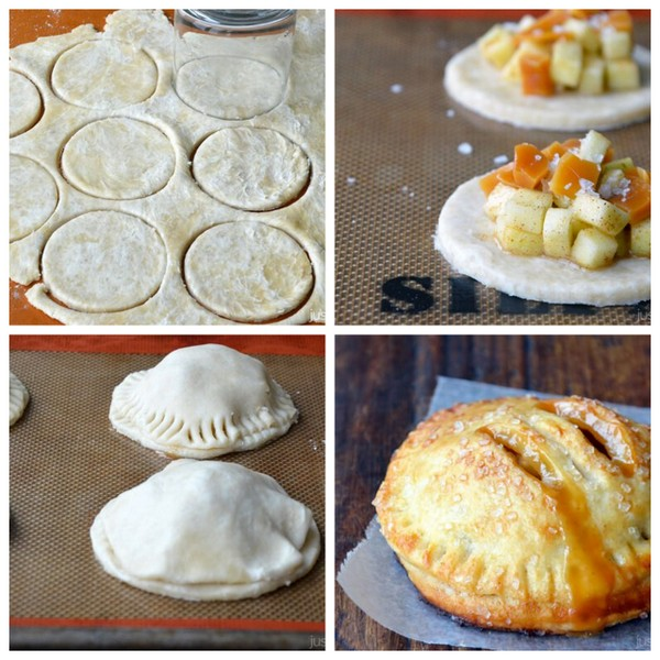 caramel apple hand pies | 25+ apple recipes