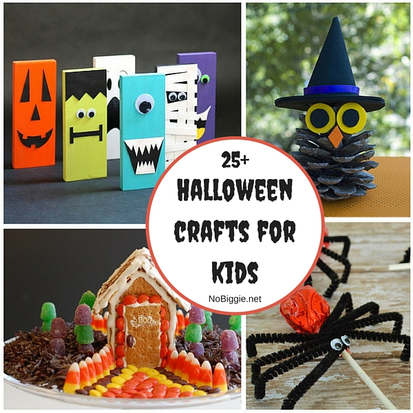 25+ Halloween crafts for kids | NoBiggie.net