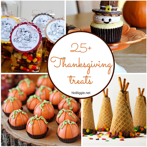 25+ Thanksgiving treats | NoBiggie.net
