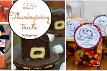 25+ Thanksgiving Treats