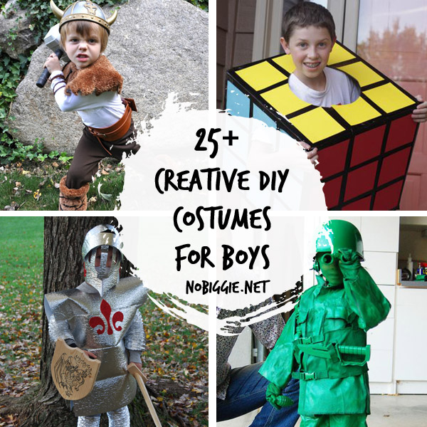 25+ Creative DIY Costumes for Boys - 148.2KB