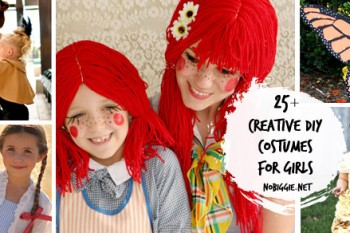 25+ creative DIY costumes for girls