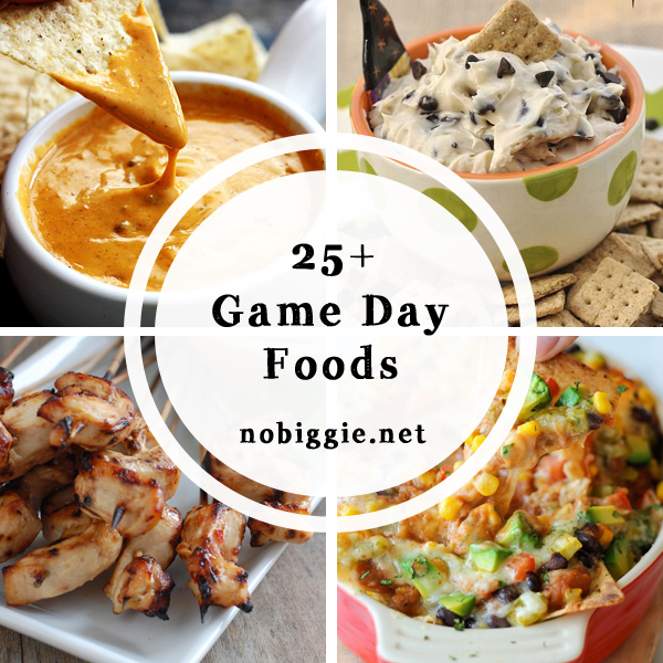 25+ game day food recipes | NoBiggie.net