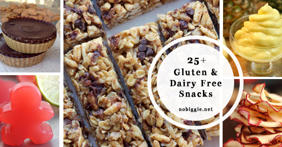 25 Gluten Free And Dairy Free Snacks