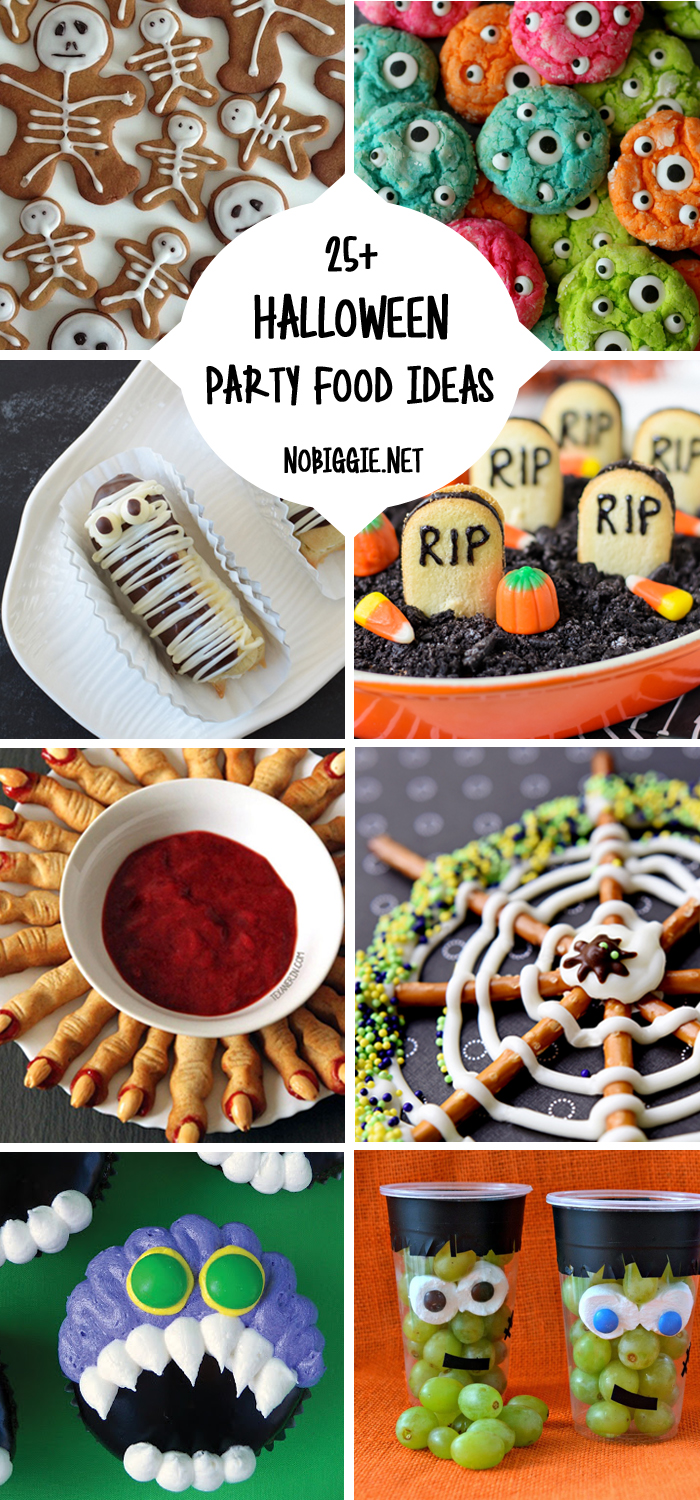 25 halloween party food ideas