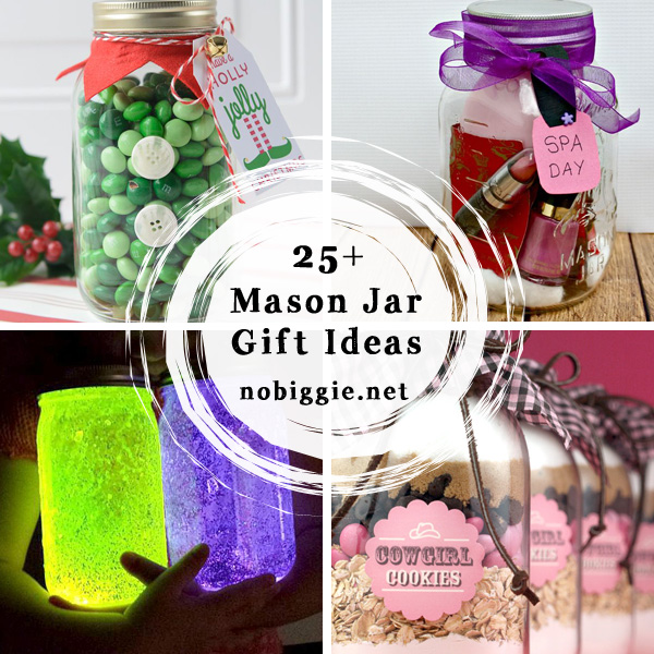 25+ mason jar gift ideas Nobiggie.net