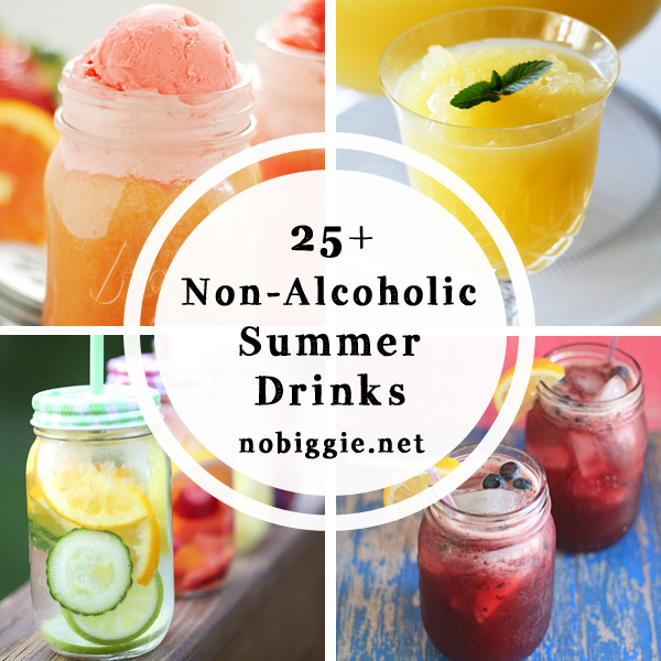 25 non alcoholic summer drinks for Drink recipes without alcohol