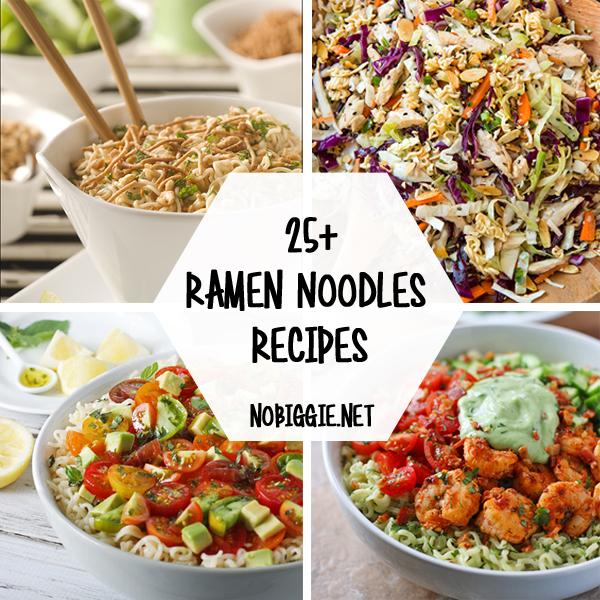 25+ Ramen Noodle Recipes   NoBiggie.net