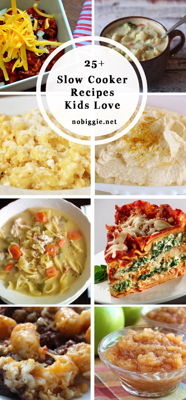 25+ slow cooker recipes for kids | NoBiggie.net