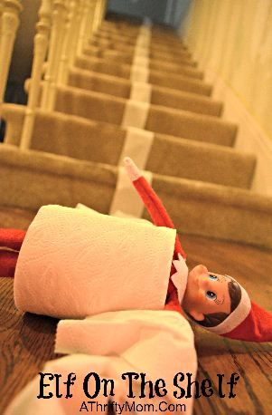 TP Tumble | 25+ elf on the shelf ideas