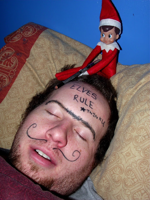 While you were sleeping | 25+ elf on the shelf ideas