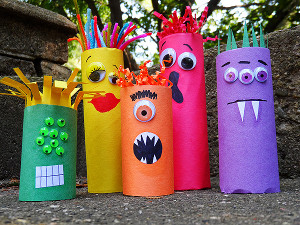 Goofy ghouls | 25+ Halloween crafts for kids