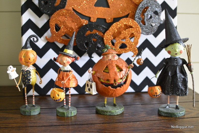 Halloween Figurines by Lori Mitchell | NoBiggie.net