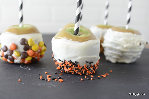 Halloween caramel apples | NoBiggie.net