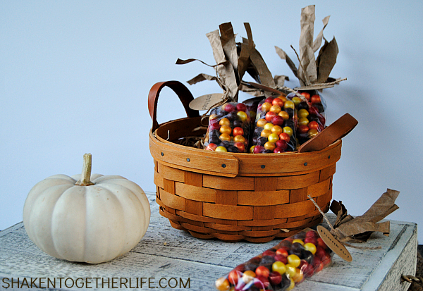 Indian corn Thanksgiving favors | 25+ Thanksgiving treats