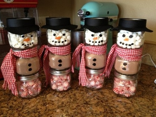 15 Cute Snowman Craft and Food Ideas